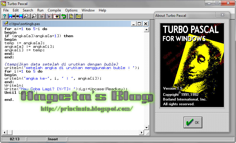 turbo pascal 1.5 for windows 7 64 bit